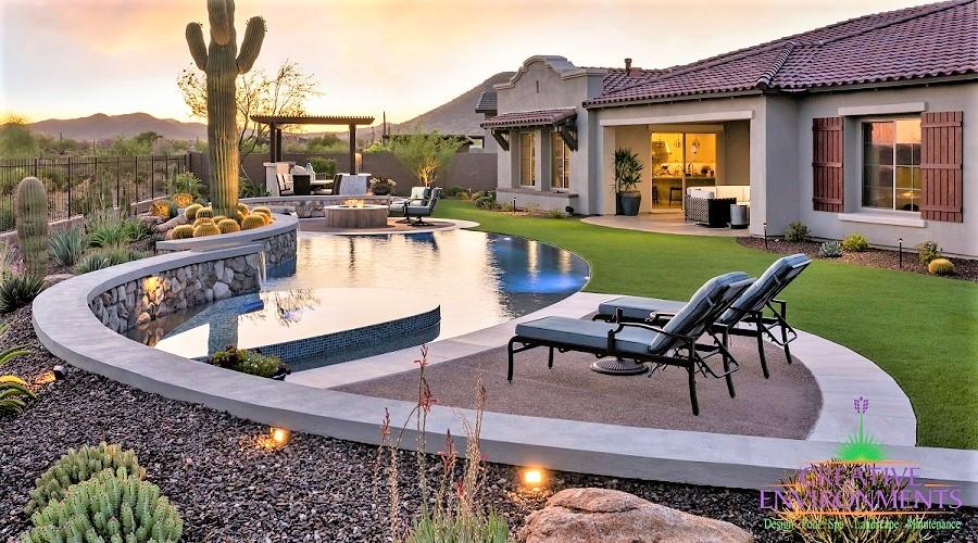 Creative Environments Custom Backyard Landscape Private Residence 6 (2)